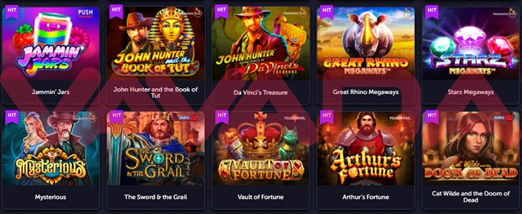 Вавада казино: игровые автоматы бесплатно и на деньги
